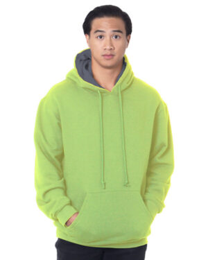 BA930 adult super heavy thermal-lined hooded sweatshirt