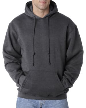 BA960 Bayside adult 95 oz, 80/20 pullover hooded sweatshirt