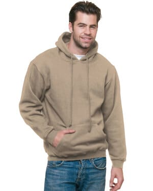 BA960 adult 95 oz, 80/20 pullover hooded sweatshirt
