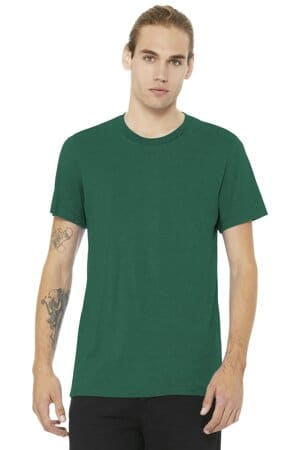 bella canvas unisex heather cvc short sleeve tee bc3001cvc