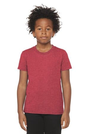BC3001Y bella canvas youth jersey short sleeve tee
