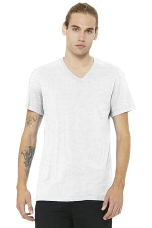 bella canvas unisex jersey short sleeve v-neck tee bc3005