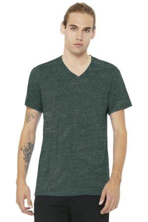 bella canvas unisex jersey short sleeve v-neck tee bc3005