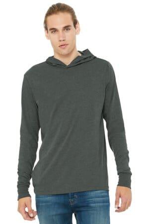 bella canvas unisex jersey long sleeve hoodie bc3512