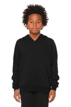 BC3719Y bella canvas youth sponge fleece pullover hoodie