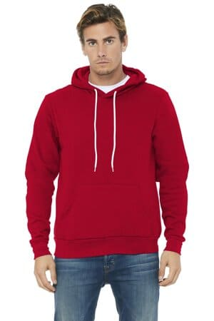 bella canvas unisex sponge fleece pullover hoodie bc3719