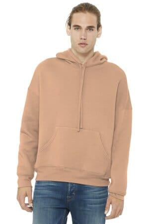 bella canvas unisex sponge fleece pullover dtm hoodie bc3729