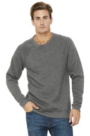 bella canvas unisex sponge fleece raglan sweatshirt bc3901