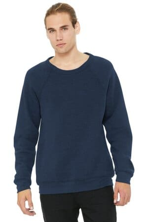 bella canvas unisex sponge fleece raglan sweatshirt bc3901