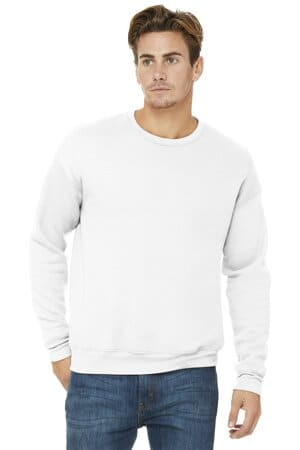 bella canvas unisex sponge fleece drop shoulder sweatshirt bc3945
