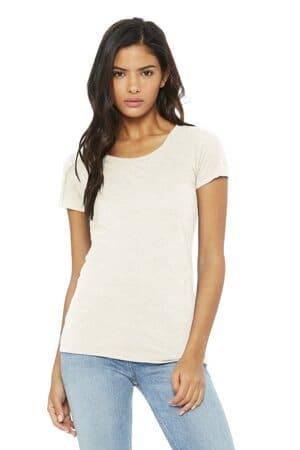 bella canvas women's triblend short sleeve tee bc8413