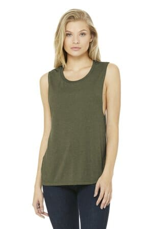 bella canvas women's flowy scoop muscle tank bc8803