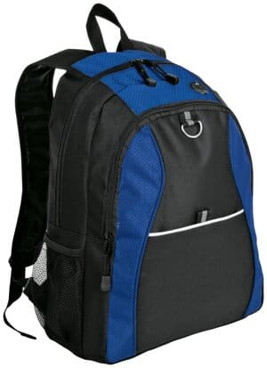 port authority contrast honeycomb backpack bg1020
