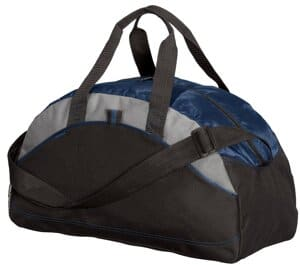 BG1070 port authority-medium contrast duffel bg1070