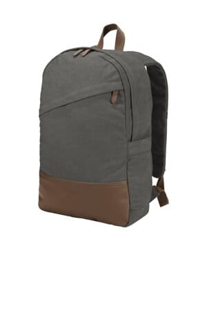 BG210 port authority cotton canvas backpack bg210
