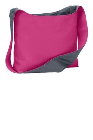 BG405 port authority cotton canvas sling bag bg405