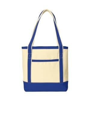 port authority medium cotton canvas boat tote bg412