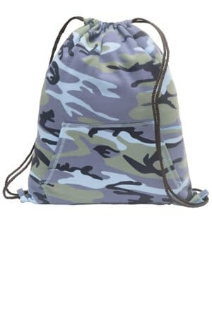 BG614 port & company core fleece sweatshirt cinch pack