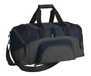 port authority-small colorblock sport duffel bg990s
