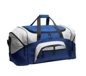 port authority-standard colorblock sport duffel bg99