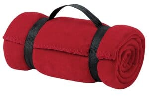 port authority-value fleece blanket with strap bp10
