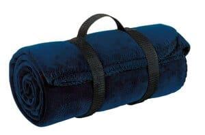 BP10 port authority-value fleece blanket with strap