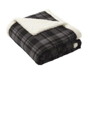 BP43 port authority flannel sherpa blanket