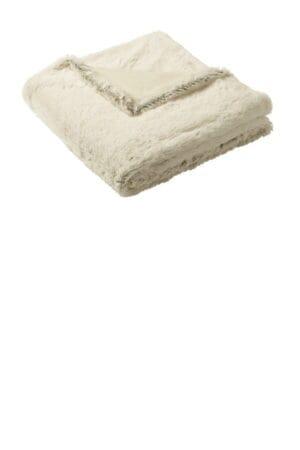 BP45 port authority faux fur blanket
