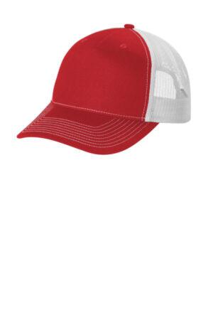 C115 port authority snapback five-panel trucker cap