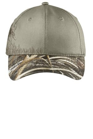 C820 port authority embroidered camouflage cap c820