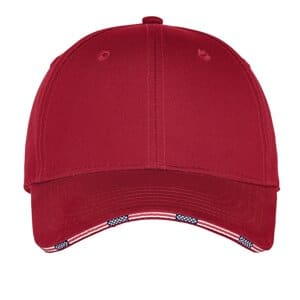 C829 port authority americana flag sandwich cap c829