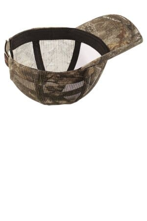 port authority pro camouflage series cap with mesh back c869