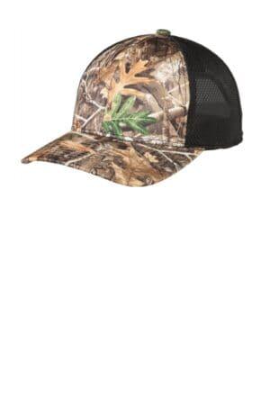C892 port authority performance camouflage mesh back snapback cap