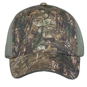 C912 port authority camouflage cap with air mesh back