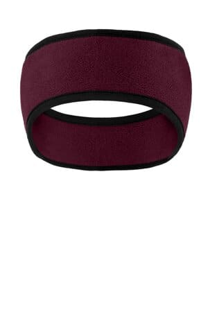 C916 port authority two-color fleece headband