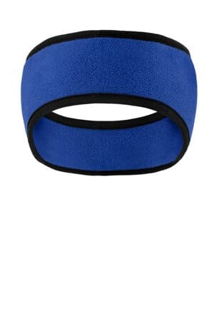 C916 port authority two-color fleece headband c916