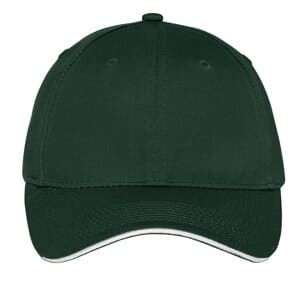 port & company unstructured sandwich bill cap c919