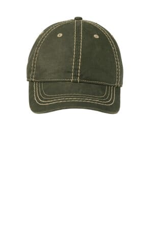 C924 port authority pigment print distressed cap c924