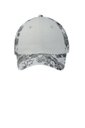 C926 port authority colorblock digital ripstop camouflage cap