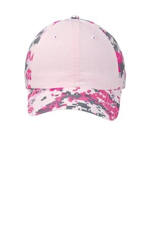 port authority colorblock digital ripstop camouflage cap c926