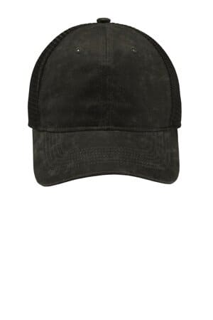 C927 port authority pigment print mesh back cap c927