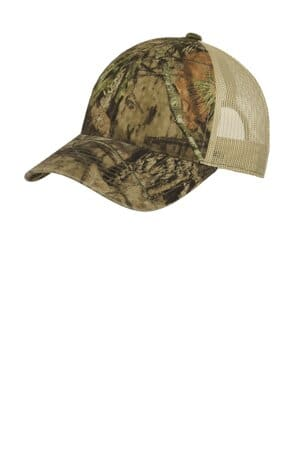 C929 port authority unstructured camouflage mesh back cap