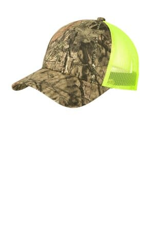 C930 port authority structured camouflage mesh back cap
