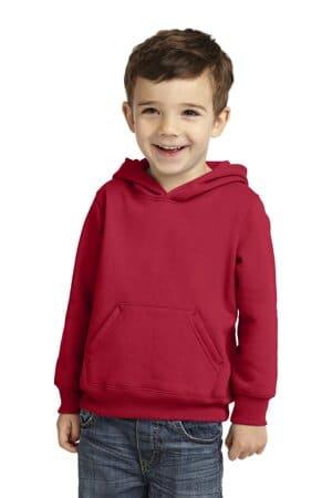 CAR78TH port & company toddler core fleece pullover hooded sweatshirt