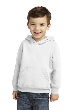 port & company toddler core fleece pullover hooded sweatshirt car78th