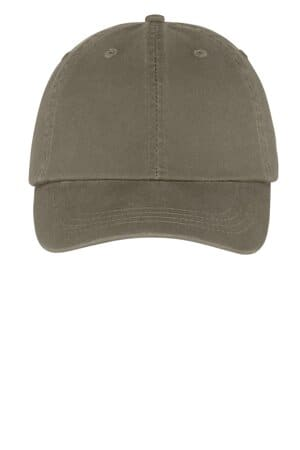 CP78 port & company-washed twill cap cp78