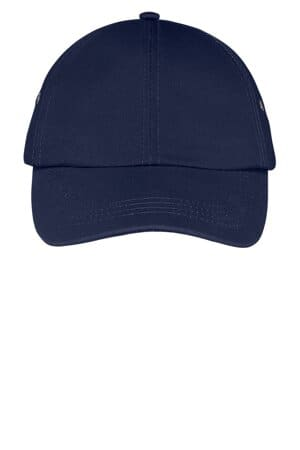 port & company fashion twill cap with metal eyelets cp81