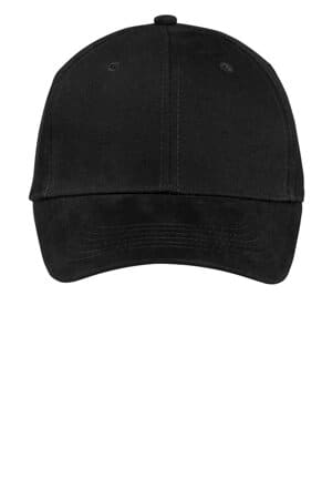 CP82 port & company brushed twill cap