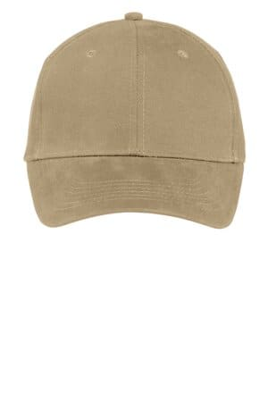CP82 port & company brushed twill cap cp82