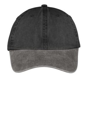 CP83 port & company-two-tone pigment-dyed cap cp83